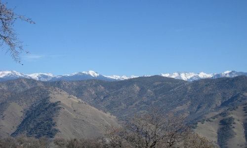 Great Western Divide from Paregien Ranch