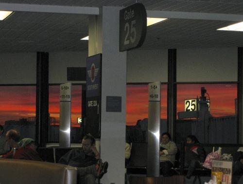 Sunup at SFO