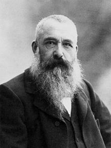 Claude Monet - 1840-1926 courtesy Wikipedia